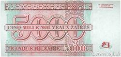 5000 Nouveaux Zaïres ZAÏRE  1995 P.68 NEUF