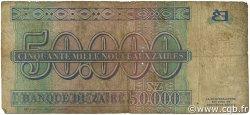 50000 Nouveaux Zaïres ZAÏRE  1996 P.74a B
