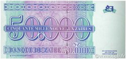 50000 Nouveaux Zaïres ZAÏRE  1996 P.75a NEUF