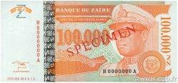100000 Nouveaux Zaïres ZAÏRE  1996 P.76s pr.NEUF