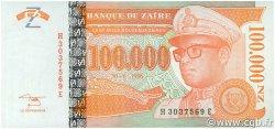 100000 Nouveaux Zaïres ZAÏRE  1996 P.77 NEUF