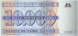 10000 Nouveaux Zaïres ZAÏRE  1995 P.70a NEUF