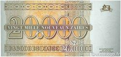 20000 Nouveaux Zaïres ZAÏRE  1996 P.73 NEUF