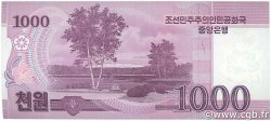 1000 Won CORÉE DU NORD  2008 P.64 NEUF