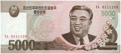 5000 Won CORÉE DU NORD  2008 P.66 NEUF