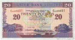 20 Pounds IRLANDE DU NORD  1999 P.337b TTB