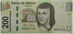 200 Pesos MEXIQUE  2007 P.125var NEUF