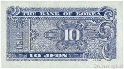 10 Jeon CORÉE DU SUD  1962 P.28a NEUF