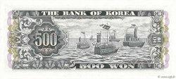 500 Won CORÉE DU SUD  1966 P.39a NEUF