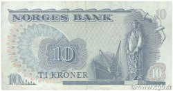 10 Kroner NORVÈGE  1979 P.36c TB