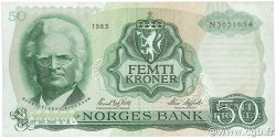 50 Kroner NORVÈGE  1983 P.37d TTB