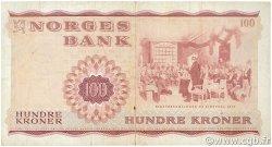 100 Kroner NORVÈGE  1977 P.38h TB+
