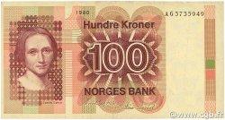 100 Kroner NORVÈGE  1980 P.41b TTB