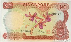 10 Dollars SINGAPOUR  1973 P.03d pr.NEUF