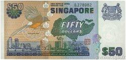 50 Dollars SINGAPOUR  1976 P.13a SPL+