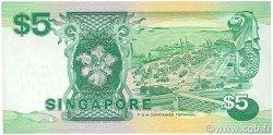 5 Dollars SINGAPOUR  1989 P.19 pr.NEUF