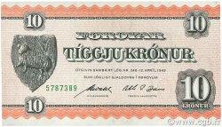 10 Kroner ÎLES FEROE  1954 P.14d pr.SPL