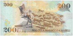 200 Maloti LESOTHO  2001 P.20b NEUF