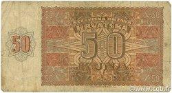 50 Kuna CROATIE  1941 P.01 B