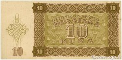 10 Kuna CROATIE  1941 P.05b SUP