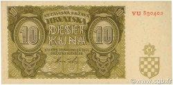10 Kuna CROATIE  1941 P.05b NEUF
