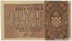 2 Kune CROATIE  1942 P.08 pr.NEUF