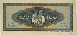 100 Kuna CROATIE  1943 P.11 pr.NEUF
