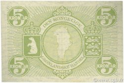 5 Kroner GROENLAND  1953 P.18a SUP+