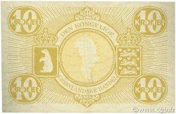 10 Kroner GROENLAND  1953 P.19b SUP+