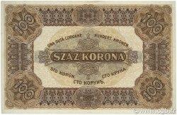100 Korona HONGRIE  1920 P.063 SUP