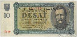 10 Korun SLOVAQUIE  1943 P.06s pr.NEUF
