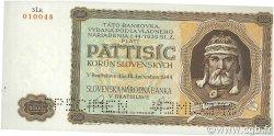 5000 Korun SLOVAQUIE  1944 P.14s SPL