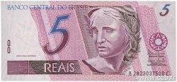 5 Reais BRÉSIL  2003 P.244Af NEUF