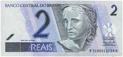 2 Reais BRÉSIL  2001 P.249e NEUF