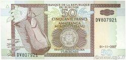 50 Francs BURUNDI  2007 P.36g pr.NEUF