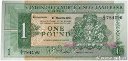 1 Pound ÉCOSSE  1961 P.195a NEUF
