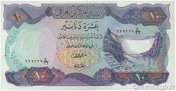 10 Dinars IRAK  1973 P.065 SPL