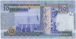 10 Dinars JORDANIE  2007 P.36c NEUF