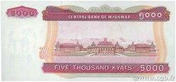 5000 Kyats MYANMAR  2009 P.81 NEUF