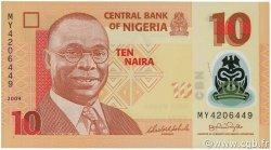 10 Naira NIGERIA  2009 P.39 NEUF