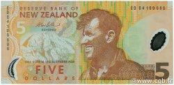 5 Dollars NOUVELLE-ZÉLANDE  2004 P.185b NEUF