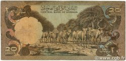 20 Shilin  = 20 Shillings SOMALIE  1980 P.27 TB