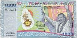 1000 Rupees SRI LANKA  2009 P.122a NEUF