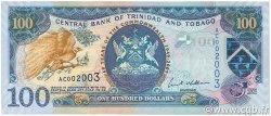 100 Dollars TRINIDAD et TOBAGO  2009 P.52 NEUF