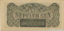 10 Sen INDONÉSIE  1945 P.015a NEUF