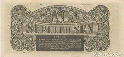 10 Sen INDONÉSIE  1945 P.015b NEUF