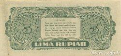 5 Rupiah INDONÉSIE  1947 P.021