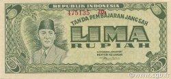 5 Rupiah INDONÉSIE  1947 P.021 NEUF