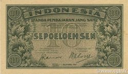 10 Sen INDONÉSIE  1947 P.031 NEUF