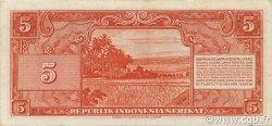 5 Rupiah INDONÉSIE  1950 P.036 TTB